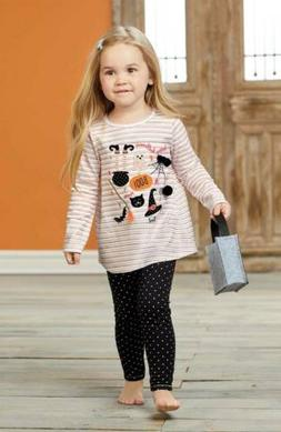 Mud Pie Halloween Tunic And Legging Set  12-18 Months