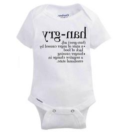 Han-gry Anger From Lack of Food Gerber Onesie | Angry Cute H