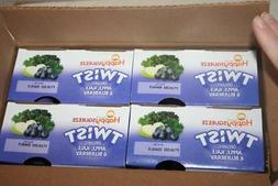 HAPPY SQUEEZE Twist Organic Apple Kale Blueberry Pack of 16