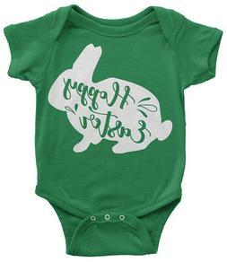 Hoppy Easter Bunny Infant Bodysuit Cute Happy Holiday Basket