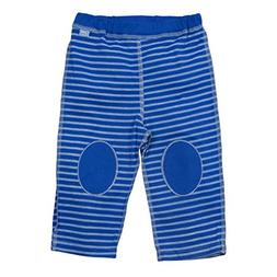 i play. Baby Organic Yoga Pants,Royal Blue Stripe,6-12 Month