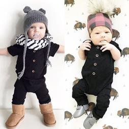 Infant Baby Boy Unisex Romper Casual Cotton Jumpsuit Summer