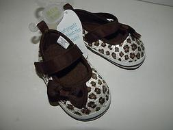 Stepping Stones INFANT Baby GIRL Leopard Sequin ~Size 4~ Cri