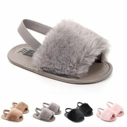 Infant Baby Girl Summer Sandals Anti-slip Flip-flop Toddler