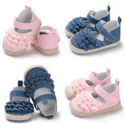 Infant Baby Girl Toddler Bowknot Moccasins Soft Sole Prewalk