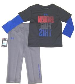 Under Armour Infant Boys 2 Pc Track Set NWT Size  12  Months