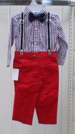 Infant Boys Nautica Size 12Mth, 18Mth & 24Mth $50 4PC. Suspe