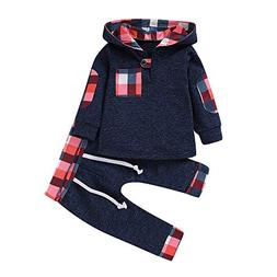 Infant Toddler Boys Girls Sweatshirt Set Winter Fall Clothes