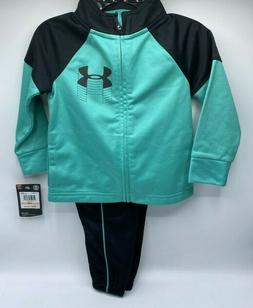 Boy's Size 12M - 18M  Under Armour Outfit Jacket Track Pants