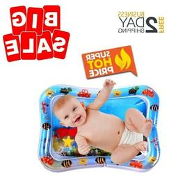 Inflatable Baby Water Mat Activity Play Center Tummy Time Ma