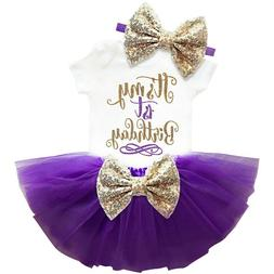 It's My First 1st Birthday Sets Baby Girl Tutu Cake Dress Ou