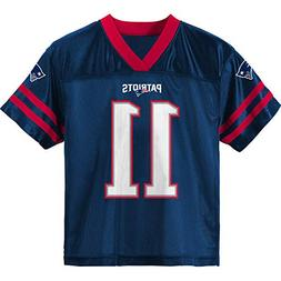 Outerstuff Julian Edelman New England Patriots #11 Navy Blue