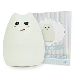 PURETECH BABY Kitten Night Light For Your Kids Nursery or Ch