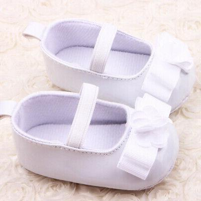 0-12M Baby Girl Soft Soles First Walkers Sneakers