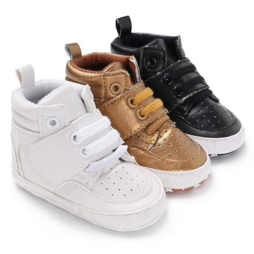 0-18M Boy Ankle Boots Shoes Sneaker US