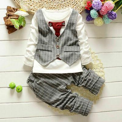1 set clothes kids suit set