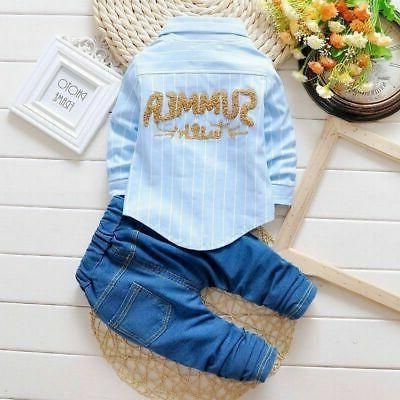1 Baby clothes suit outfits set
