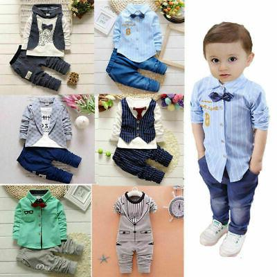 1 set baby clothes kids boys wedding