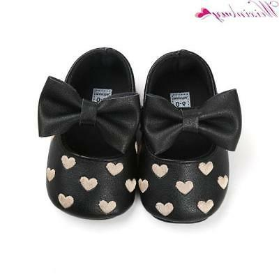 12 Colors Bebe PU Leather Baby Girl Baby Shoes Bow Fri