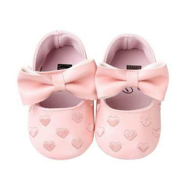 12 Colors Bebe PU Baby Girl Baby Shoes Bow Fri