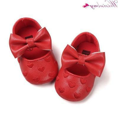 12 Colors PU Leather Baby Girl Shoes