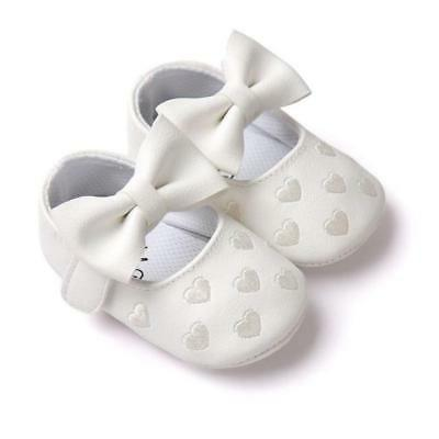 12 PU Leather Baby Boy Girl Baby Shoes Bow
