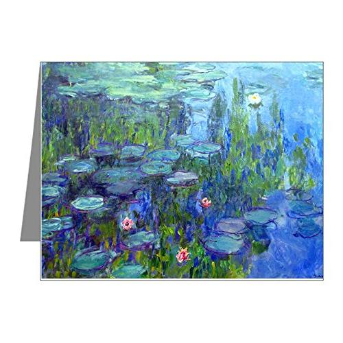 12mo monet 20 note cards pk of