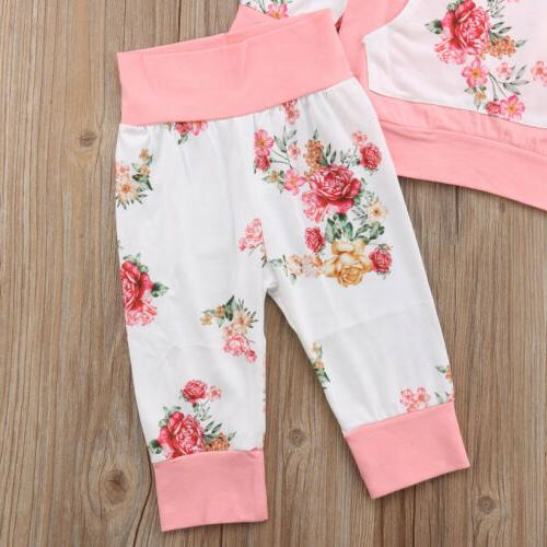 2PCS Newborn Infant Clothes Leggings Outfits