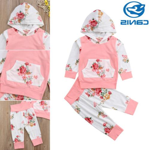 2PCS Baby Infant Clothes Leggings Outfits
