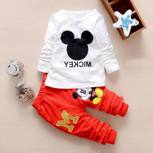 3pcs boys coat+T +pants tracksuit set cartoon