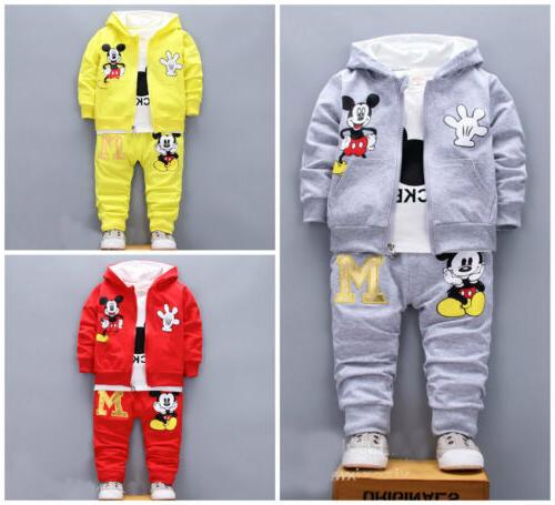 3pcs baby toddler clothes boys coat t
