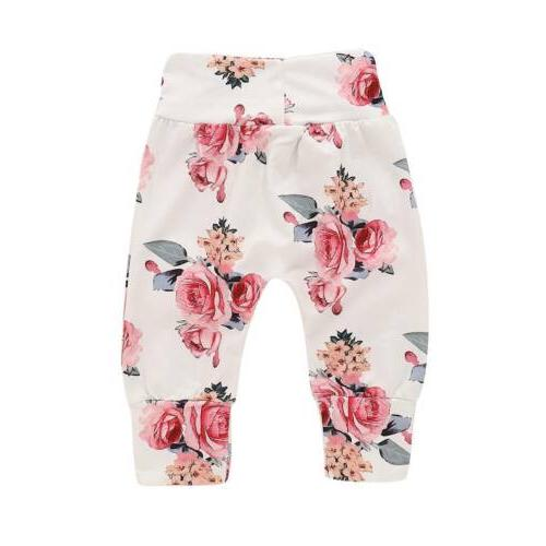 3PCS Baby Clothes Tops+Pants