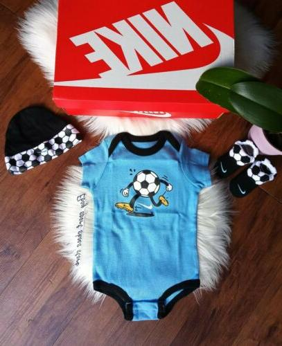 6-12 months Air booties soccer multicolor
