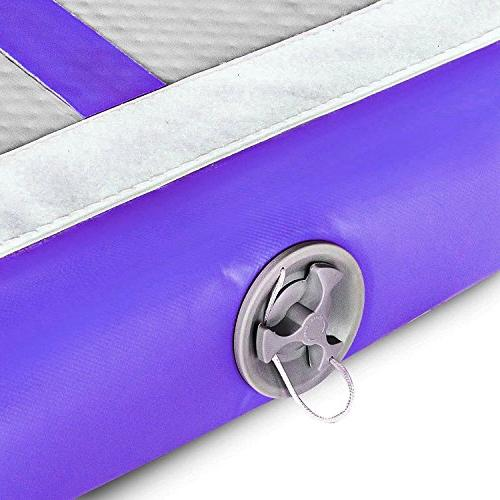 9.84ft/13.12ft/16.4ft/19.68ft mat inflatable with Electric Pump and Martial Arts