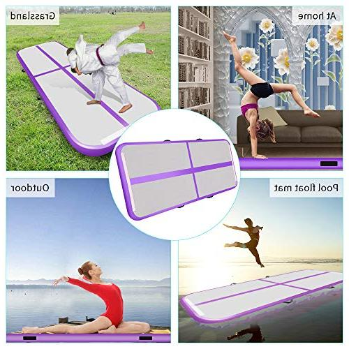 Air Track Mat for Inflatable Airtrack Floor with Electric Air Use and Martial