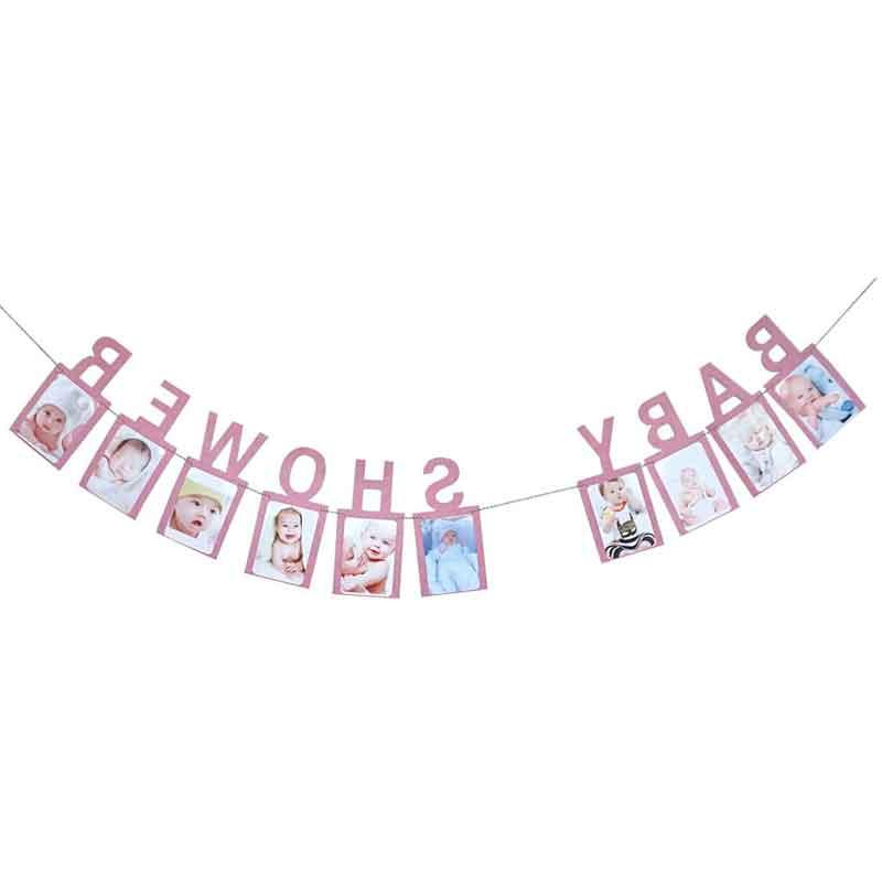 Baby Boy <font><b>Girl</b></font> <font><b>12</b></font> <font><b>Month</b></font> Photo Banner Booth Banner My First Birthday Decorations Kids
