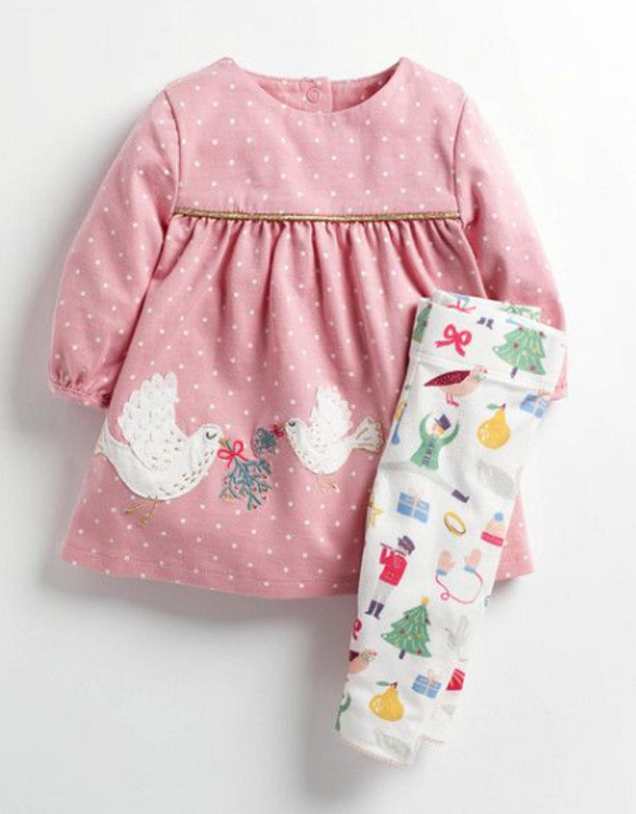 baby boden girls dress leggings set outfit