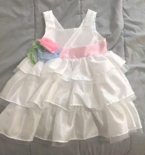 baby boutique spring summer party flower dress