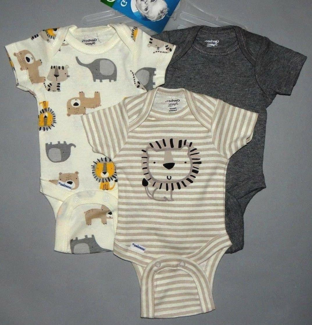Baby boy clothes, months, Organic bodysuits/SEE