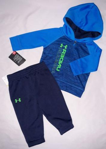 Under Armour Baby Boys 3/6 6/9 9/12M 2pc Jacket Sweatpants S