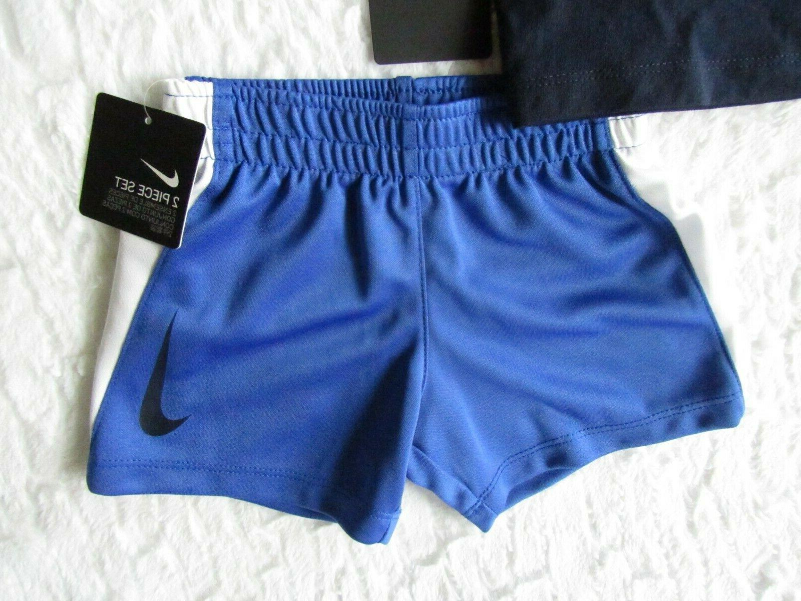 NIKE Baby DRI-FIT Graphic Set Outfit 12