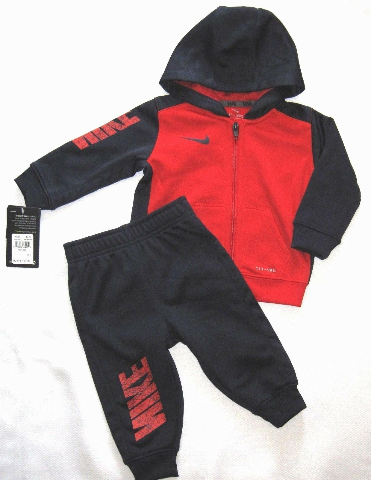 Nike Zip Dri-Fit & Pant Set 12 Months