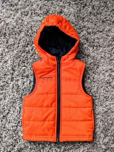 baby boys puffer vest 12 months