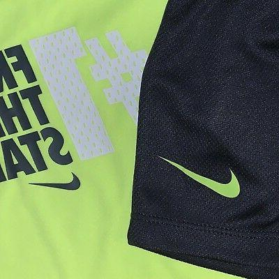 Baby Boys Size M Months Nike Shirt Shorts Set Athletic Clothes Nwt