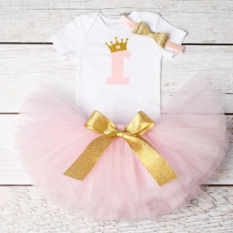 Baby 1 birthday Tutu Girls Christening Outfits for <font><b>months</b></font>