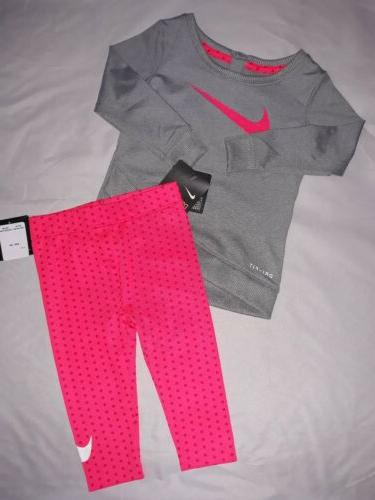 baby girl 12m month 2pc tunic top