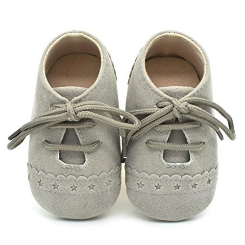 baby girl boys lace up sneakers soft