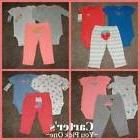 Baby Girl Clothes Carters P NB 3 6 9 12 18 24 Months mos Siz