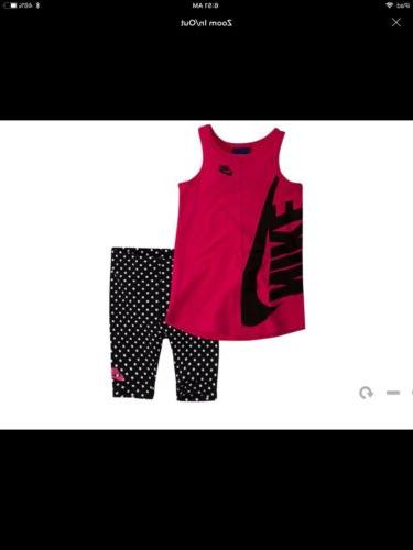 Baby Girl Nike Outfit 12 Months