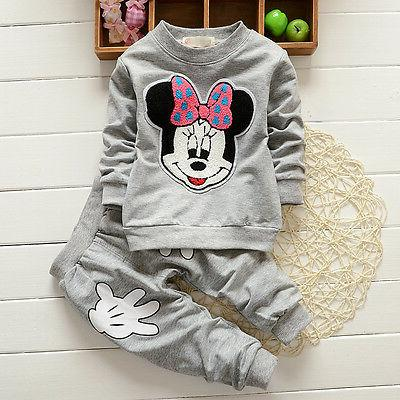 Baby Mouse Long Sleeve T-shirt+ Pants Clothes